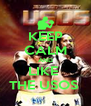 KEEP CALM AND LIKE  THE USOS  - Personalised Poster A4 size