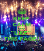 "KEEP  CALM AND ""LIKE""  THIS PAGE! - Personalised Poster A4 size"