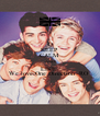 KEEP CALM AND LIKE  We love One Direction -RO  - Personalised Poster A4 size