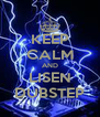 KEEP CALM AND LISEN DUBSTEP - Personalised Poster A4 size