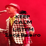 KEEP CALM AND LISTEM Zeca Baleiro - Personalised Poster A4 size