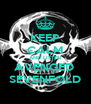 KEEP CALM AND LISTEN AVENGED  SEVENFOLD - Personalised Poster A4 size