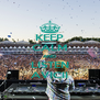 KEEP CALM AND LISTEN AVICII - Personalised Poster A4 size