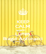 KEEP CALM AND Listen Biagio Antonacci - Personalised Poster A4 size