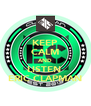 KEEP CALM AND LISTEN  ERIC CLAPMAN - Personalised Poster A4 size