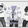 KEEP CALM AND Listen Hanson - Personalised Poster A4 size
