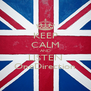 KEEP CALM AND LISTEN OneDirection - Personalised Poster A4 size