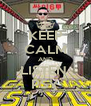 KEEP CALM AND LISTEN  PSY - Personalised Poster A4 size