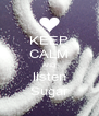 KEEP CALM AND listen Sugar - Personalised Poster A4 size