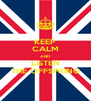 KEEP CALM AND LISTEN THE OFFSPRING - Personalised Poster A4 size