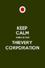 KEEP CALM AND LISTEN THIEVERY CORPORATION - Personalised Poster A4 size