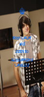 KEEP CALM and LISTEN TO ALESSANDRO CASILLO - Personalised Poster A4 size