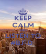KEEP CALM AND LISTEN TO #B.F.D  - Personalised Poster A4 size