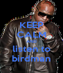 KEEP CALM AND listen to birdman - Personalised Poster A4 size