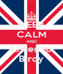 KEEP CALM AND Listen to Birdy - Personalised Poster A4 size