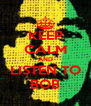 KEEP CALM AND LISTEN TO BOB - Personalised Poster A4 size