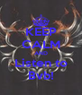 KEEP CALM AND Listen to Bvb! - Personalised Poster A4 size