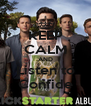 KEEP CALM AND Listen to Confide - Personalised Poster A4 size