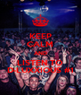 KEEP CALM AND LISTEN TO D-LUXXIOUS #1 - Personalised Poster A4 size