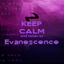 KEEP CALM and listen to Evanescence  - Personalised Poster A4 size