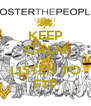 KEEP CALM AND LISTEN TO FTP - Personalised Poster A4 size