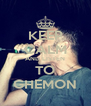 KEEP CALM AND LISTEN TO GHEMON - Personalised Poster A4 size