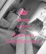 keep calm and listen to headhunterz - Personalised Poster A4 size