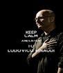 KEEP CALM AND LISTEN  TO LUDOVICO EINAUDI - Personalised Poster A4 size