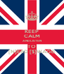 KEEP CALM AND LISTEN TO [N]ERD [$]WAGG - Personalised Poster A4 size