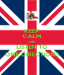 KEEP CALM AND LISTEN TO ONE DIRECTION:) - Personalised Poster A4 size