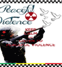 KEEP CALM AND LISTEN TO PEACEFUL VIOLENCE - Personalised Poster A4 size
