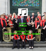 KEEP CALM AND LISTEN TO PONTYPOOL BRASS BAND  - Personalised Poster A4 size