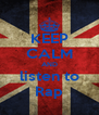 KEEP CALM AND listen to Rap - Personalised Poster A4 size
