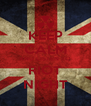 KEEP CALM AND LISTEN TO RIOT NIGHT - Personalised Poster A4 size