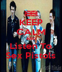 KEEP CALM AND Listen To Sex Pistols - Personalised Poster A4 size