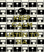 KEEP CALM AND LISTEN TO SIA - Personalised Poster A4 size