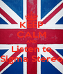KEEP CALM AND Listen to Sigma Stereo - Personalised Poster A4 size
