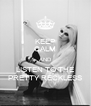 KEEP CALM AND LISTEN TO THE PRETTY RECKLESS - Personalised Poster A4 size