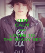 KEEP CALM AND LISTEN TO THE READY SET - Personalised Poster A4 size