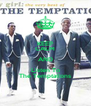 KEEP CALM AND Listen To The Temptations - Personalised Poster A4 size