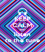 KEEP CALM AND listen to the tune - Personalised Poster A4 size