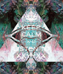 KEEP CALM AND LISTEN TO XXYYXX - Personalised Poster A4 size