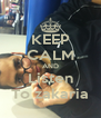 KEEP CALM AND Listen To zakaria - Personalised Poster A4 size