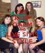 KEEP CALM AND LIVE SİVİŞ STYLE - Personalised Poster A4 size