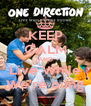 KEEP CALM AND Live While We're oung - Personalised Poster A4 size