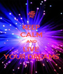 KEEP CALM AND LIVE YOUR DREAMS - Personalised Poster A4 size