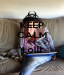 KEEP CALM AND Lolll  - Personalised Poster A4 size