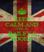 KEEP CALM AND LOOK AT BAILEY S BOOK x - Personalised Poster A4 size
