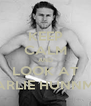KEEP CALM AND LOOK AT CHARLIE HUNNMAN - Personalised Poster A4 size