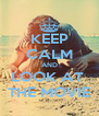 KEEP CALM AND LOOK AT  THE MOVIE - Personalised Poster A4 size